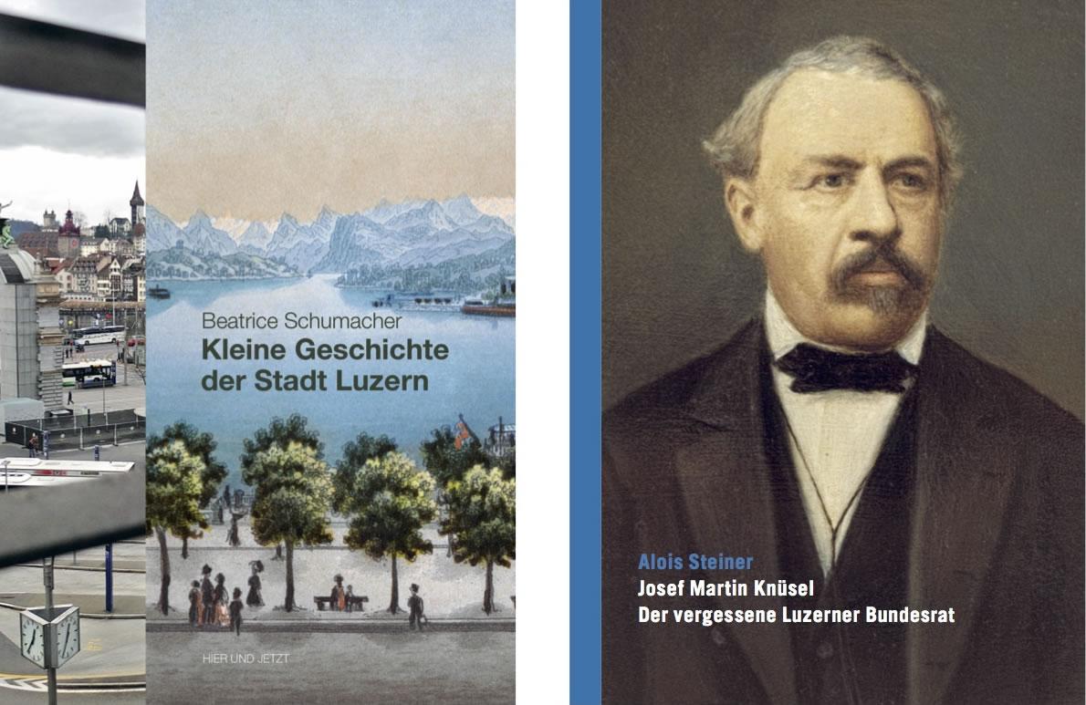 2015 veröffentlichte die GGL zwei historische Bücher: Kleine Stadtgeschichte und Josef Martin Knüsel – Der vergessene Bundesrat.